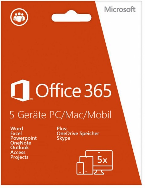 Office 365 Home, 5 User
