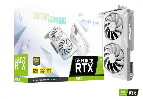 Zotac GeForce RTX3060 Twin AMP OC White Edition 12GB DDR6