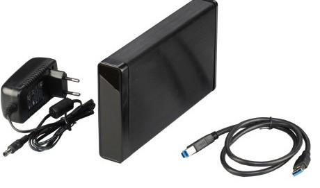 """Externes Gehäuse USB 3.0 für 3,5"""" (8,9cm) Laufwerke, ALU"""