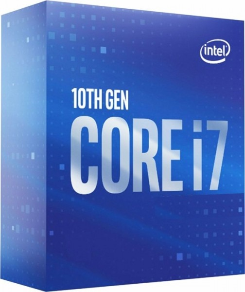 Intel Core I7-10700K, 3.8 bis 5.1 GHz, Box
