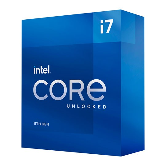Intel Core I7-11700K, 3.6 bis 5.0 GHz, Box