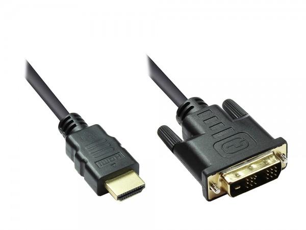 HDMI auf DVI-Kabel 5m
