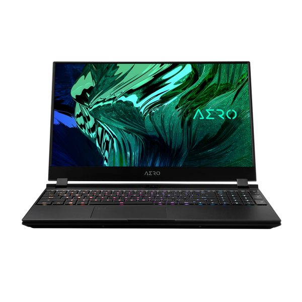 Gigabyte Aero 5, Intel Core I7-10850H, 16GB, 512GB SSD, RTX3060-6GB, W10 Pro, 4K OLED