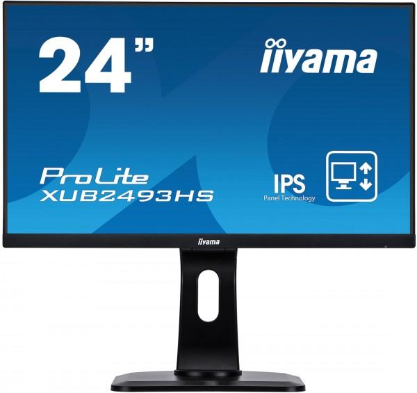 """iiyama XUB2493HS-B1, 24"""" (60,96 cm), Pivot"""