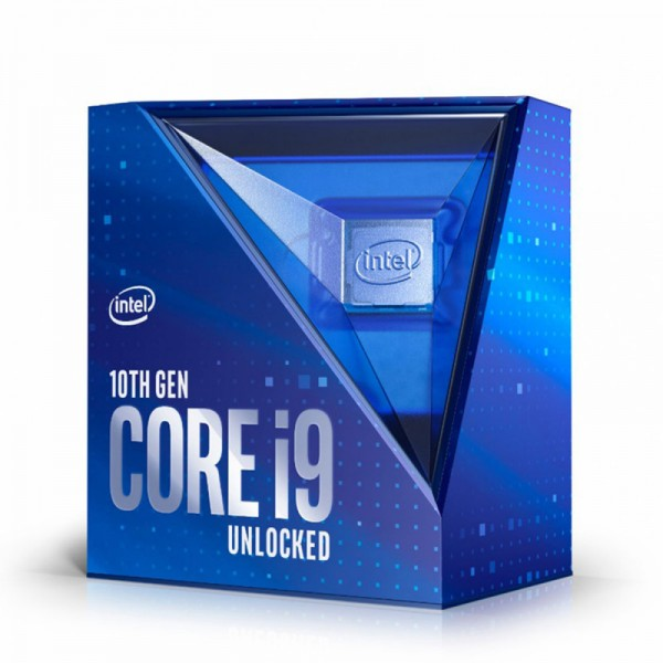 Intel Core I9-10900F, 2.8 bis 5.2 GHz, Box