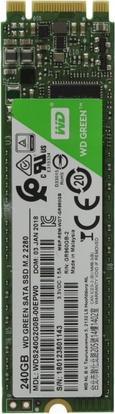 WD Green 240GB Solid State Drive M.2