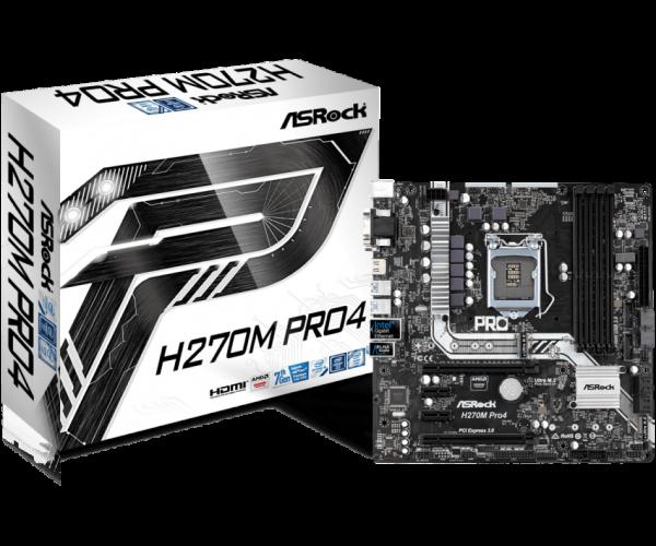 ASRock H270M Pro4