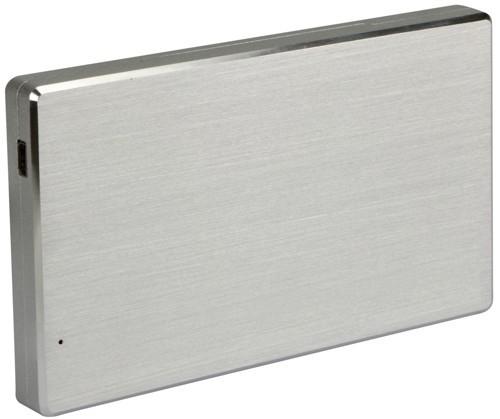 """Externes Gehäuse USB 3.0 für 2,5"""" (6,3cm) Laufwerke, ALU"""