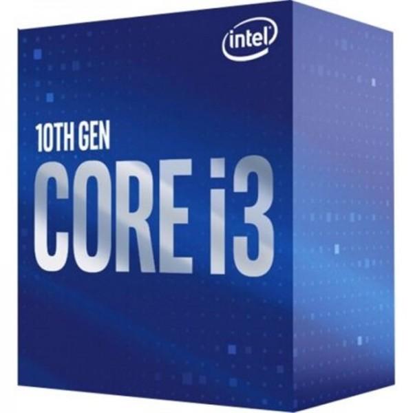 Intel Core I3-10100F, 3.6 bis 4.3 GHz, Box